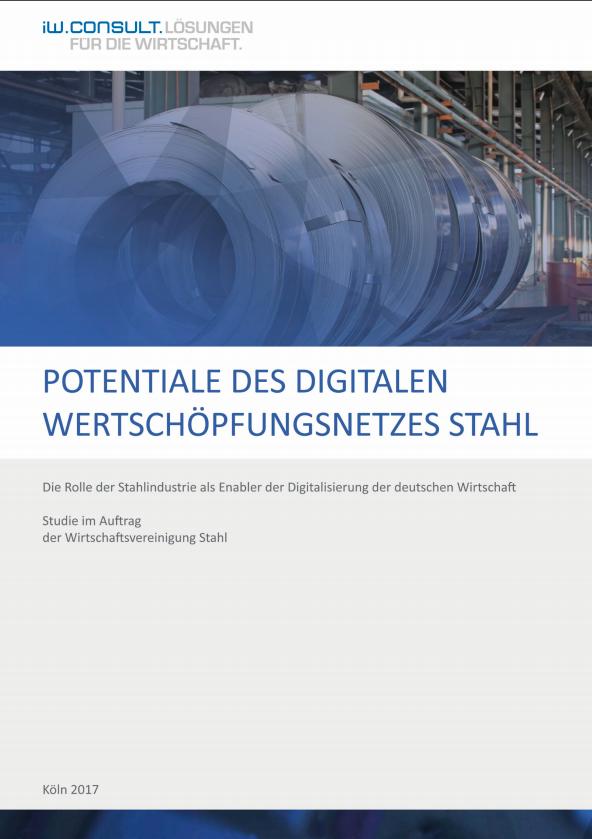 Potentiale des digitalen Wertschöpfungsnetzes Stahl