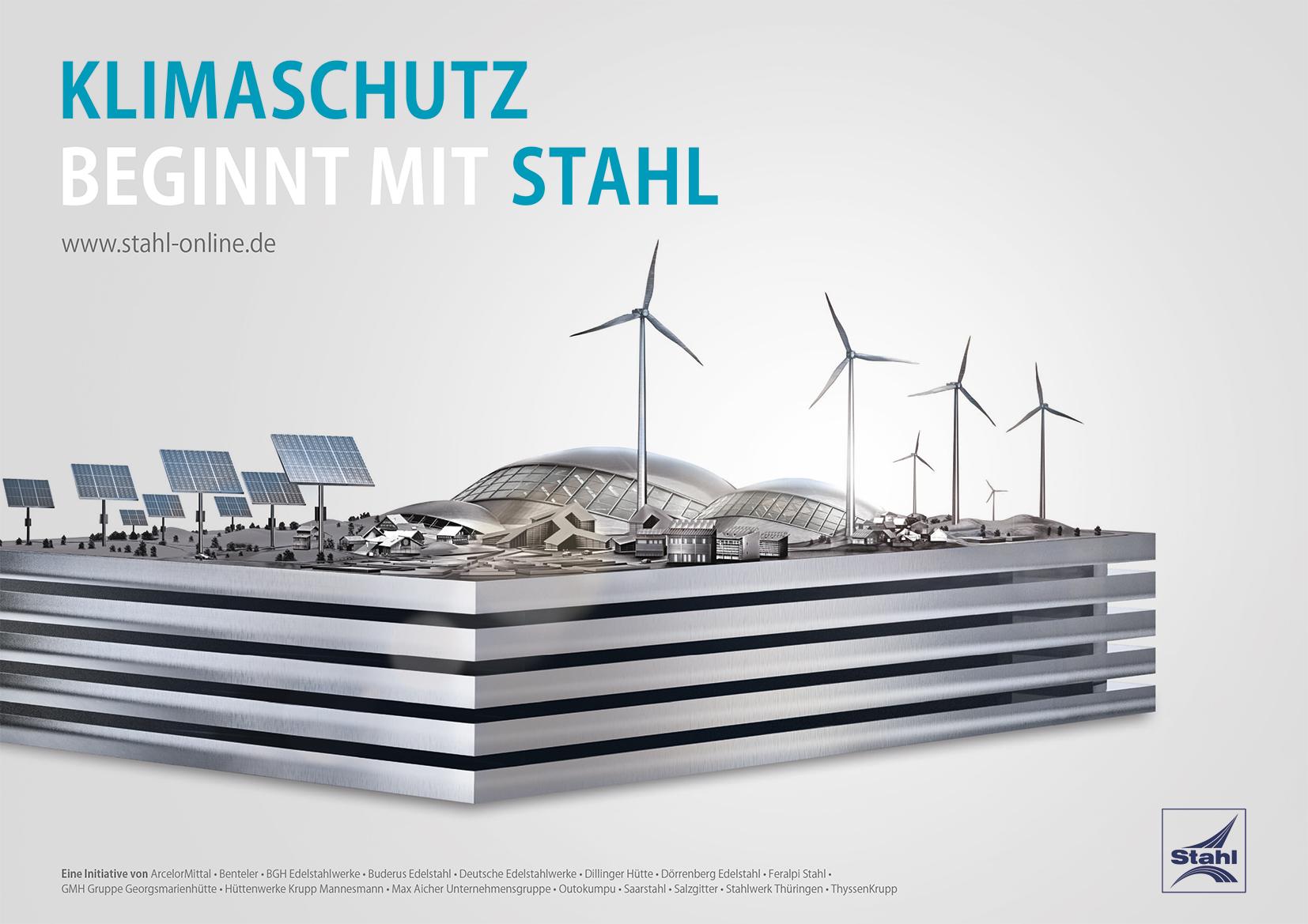 Klimaschutz beginnt mit Stahl