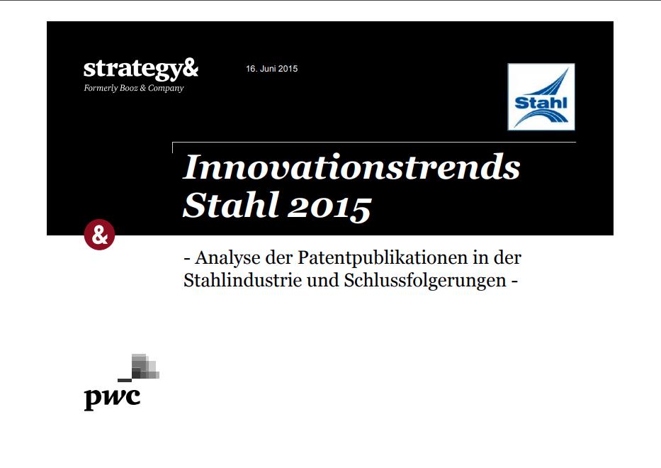 Innovationstrends Stahl 2015