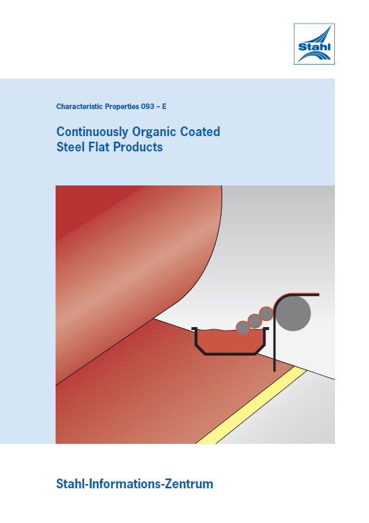 Continuously Organic Coated Steel Flat Products