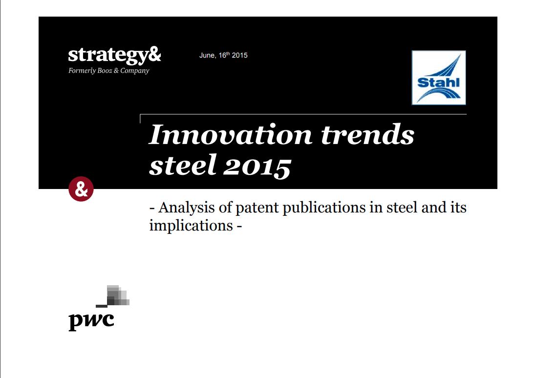Innovation Trends in Steel 2015